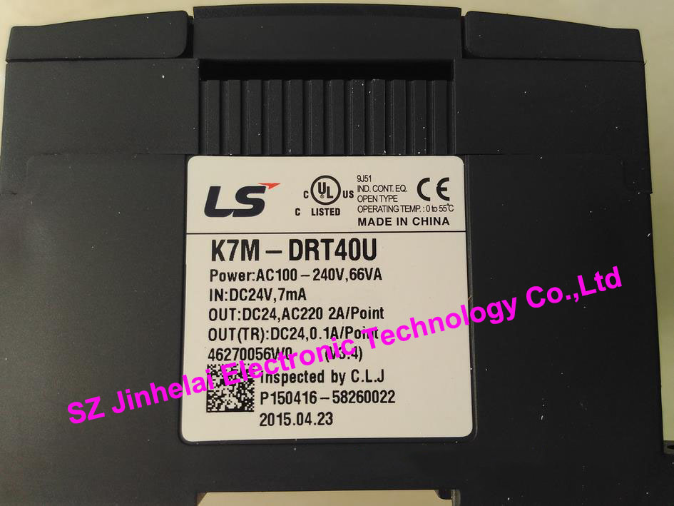 все цены на  100% New and original  K7M-DRT40U  LS(LG)  PLC  онлайн