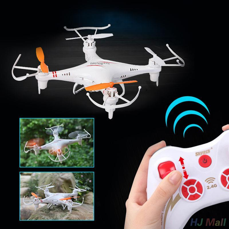 M62R 2.4GHz 4CH RC Quadcopter Real Time Transmission LED Light Drone RTF