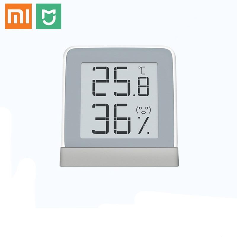 Original Xiaomi Mijia Miaomiaoce Thermometer Temperature Humidity Sensor With LCD Screen Digital E-ink Electronic Ink Screen