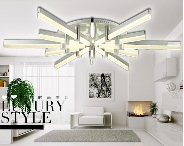 LED study lamp modern minimalist living room ceiling lamp bedroom lamp creative flower shaped lamps