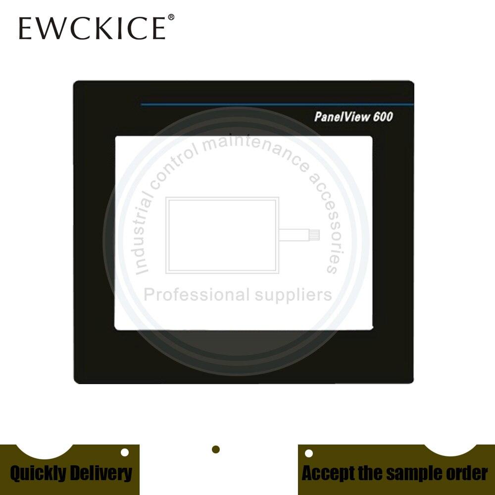 NEW PanelView 600 2711-T6C1L1 2711-T6C2L1 HMI PLC Front label Industrial control sticker