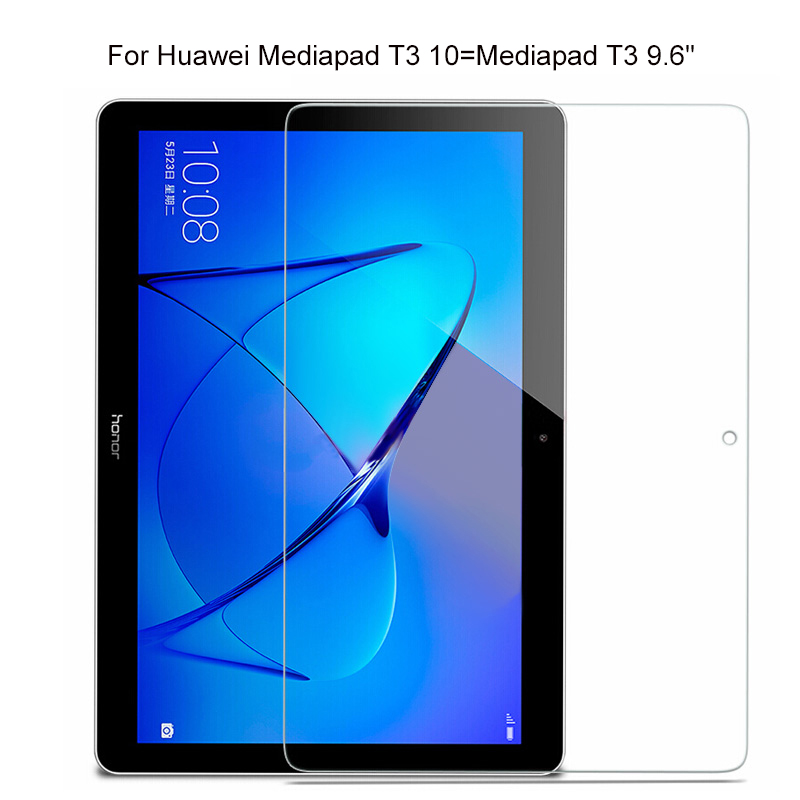 Tempered Glass for Huawei MediaPad T3 <font><b>10</b></font> 9.6'' Honor Play Pad 2 AGS-L09 AGS-L03 AGS-W09 Screen Protector Protective safety Film image