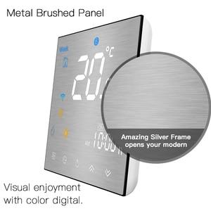 Image 2 - WiFi akıllı termostat sıcaklık kontrolörü/elektrikli yerden ısıtma su/gaz kazanı Alexa Google ev ile çalışır