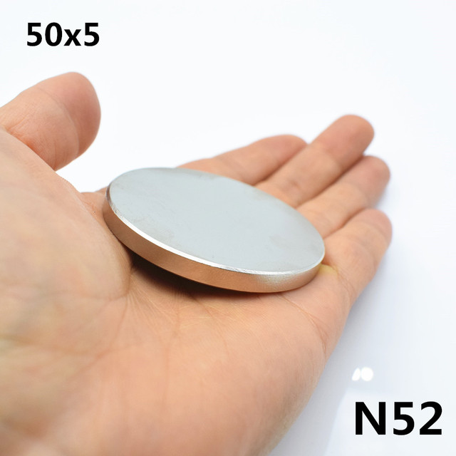 1 шт неодимовый магнит 50x5 мм N52 супер прочный габаритный Магнит Редкоземельные элементы NdFeB 50*5 мм сильным постоянные мощные магнитные