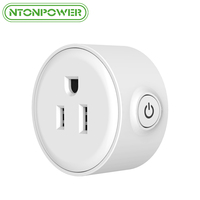 NTONPOWER Mini Smart Outlet Wifi Socket Remote Control Timer Switch US Plug For Smart Home Automation