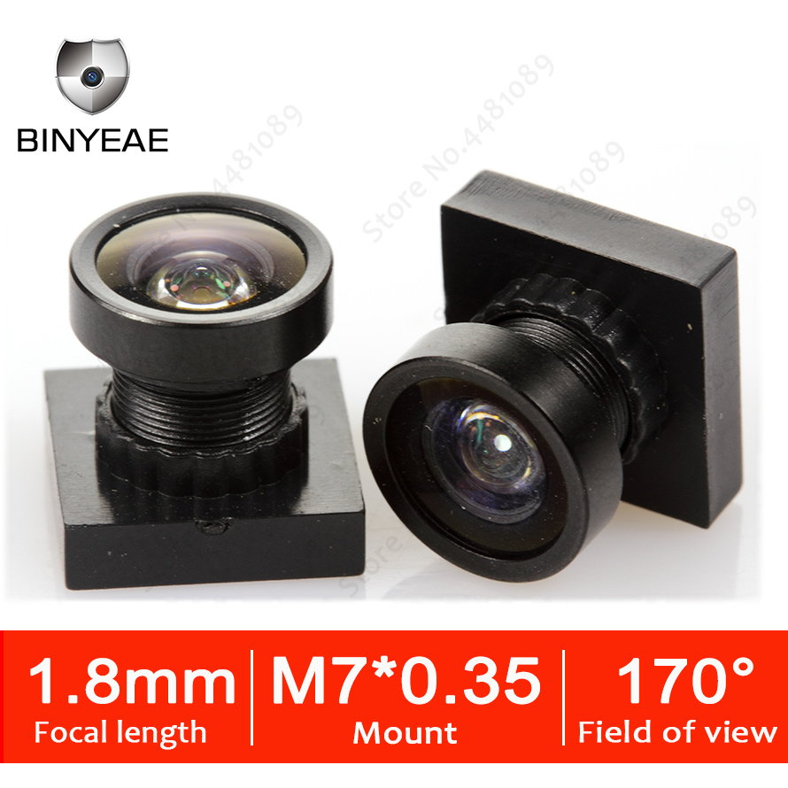 M7 1.8MM HD 2.0Megapixel Lens Wide Viewing Angle 170Degree Mini Fisheye Lens FPV Camera Racing Camera Drones Lens