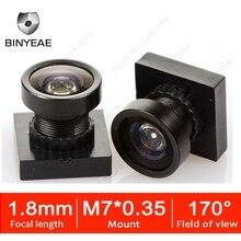 M7 1,8 мм HD 2,0 мегапиксельный объектив широкий угол обзора 170 градусов мини линза рыбий глаз с видом от первого лица Камера гоночная камера дроны объектив