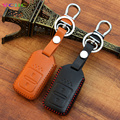 Fashion Men And Women's Car Leather Key Case cover KeyChain for Honda CRV FIT XRV CRIDER VEZEL JADE SPIRIOR 9 Accord