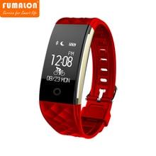 S2 Bluetooth Smart Band Браслет Heart Rate Мониторы IP67 Водонепроницаемый SmartBand браслет для Android IOS телефон трекер