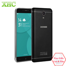DOOGEE X7 Pro 6.0 inch Android 6.0 Smartphone MTK6737 Quad Core LTE 4G Dual SIM 2GB 16GB Cell phones OTG OTA GPS Mobile Phone