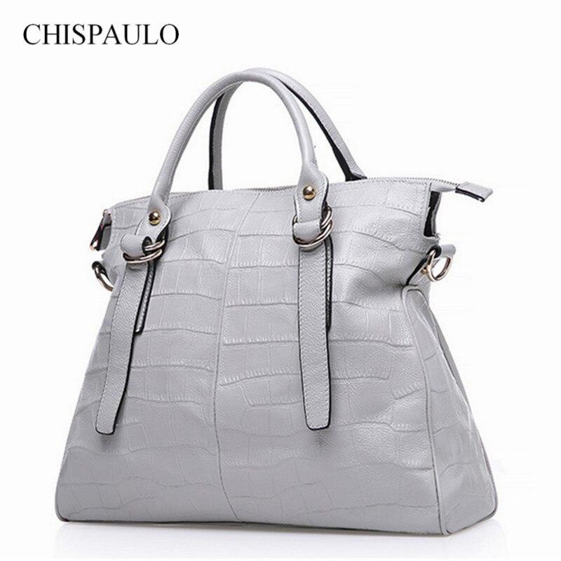 ФОТО 2016 Fashion Women Bag Genuine Leather Luxury Handbag 100% Cow Leather Female Shoulder Bag Bolsa Feminina Famous Brand New
