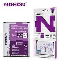 100 NOHON 3200mAh High Capacity New Battery Perfect For Xiaomi Redmi Note BM42 Hongmi NOTE Top