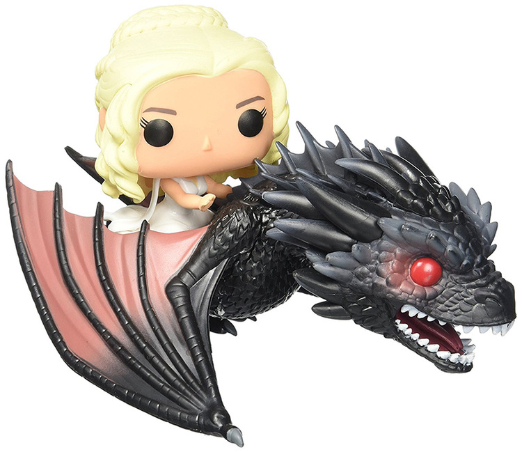 Funko pop Song Of Ice And Fire Game Of Thrones DAENERYS & DROGON Action & Toy Figures Collectible Model Toy for Children 1