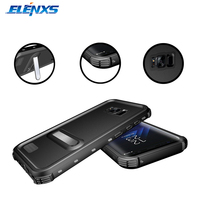 ELENXS IP68 Waterproof Case Shockproof Swimming Shower Phone Holder Cover For Samsung Galaxy S8 Plus With Lanyard