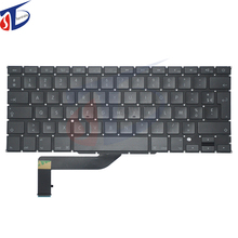5Pcs/Lot new For Macbook Pro Retina 15″ A1398 French France FR Keyboard MC975 MC976 ME664 ME665 ME293 ME293 2013 2014 2015year