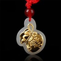 TJP 2018 Good Quality Wholesale Discount Jade Pendants For Men Women Free Shipping Necklaces