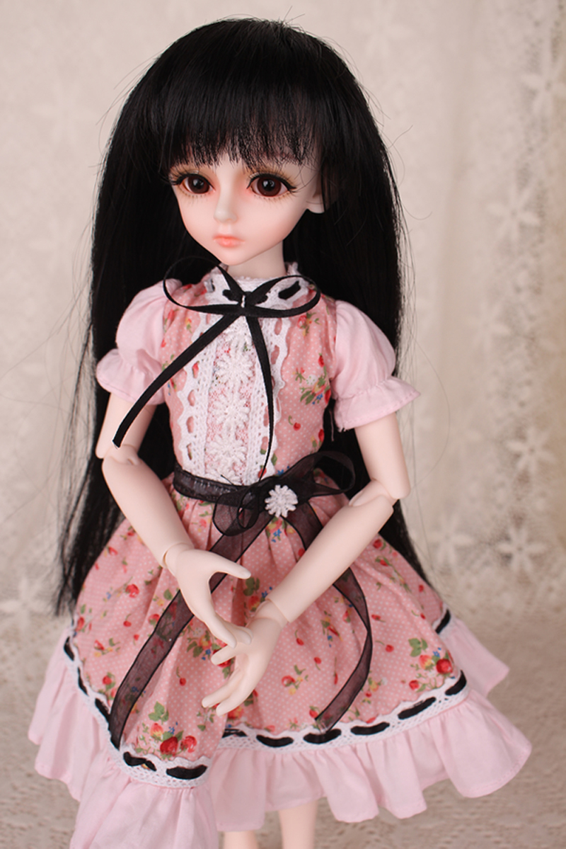 1/3 1/4 1/6 BJD Doll BJD/SD Fashion Clothes Flower Butterfly Cute Dress Doll For Baby Girl Dress