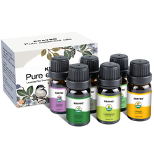 6 bottles 10 ml  Pure Essential Oil Aromatherapy Oil for aroma Diffuser Humidifier Fragrance of Lavender Tea Tree Rosemary 100% pure plant essential oil lemon grass lavender rosemary sweet almond oil aromatherapy massage relieve tired legs