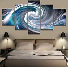Whirlpool Landscape Canvas Wall Art Home Decor For Living Room Paintings on for Artwork