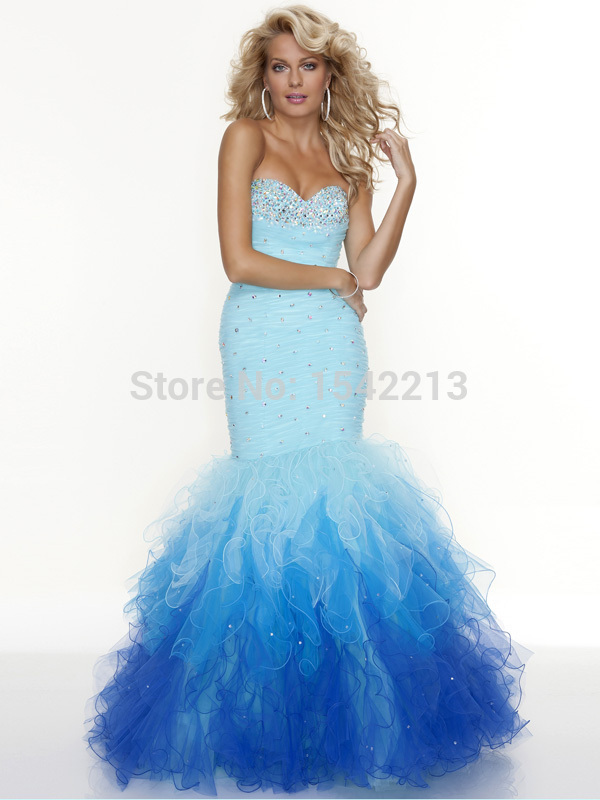 Collection Light Blue Mermaid Dress Pictures - Cerene
