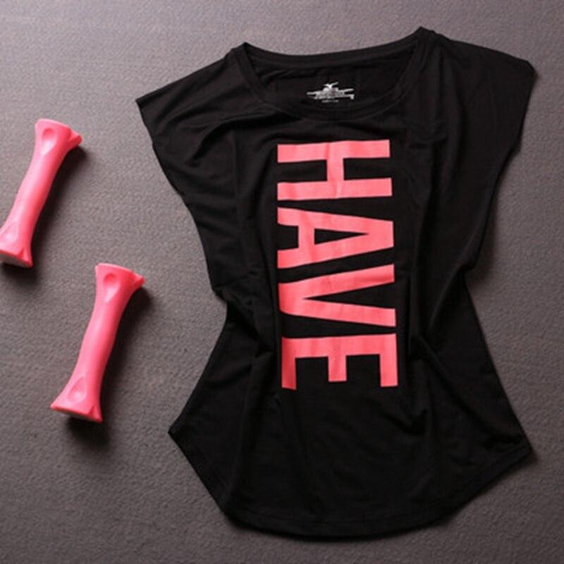 Gym Woman Tank Yoga Top Sport T Shirt For Fitness Workout Sports Wear Tops For Women Jersey Women's Clothing Female Sportswear