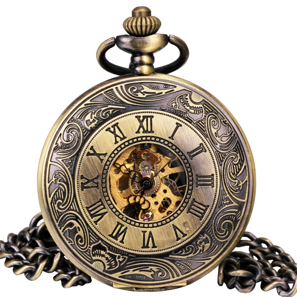 NºMen Vintage Mechanical Pocket Watch ᗖ Retro Retro ...