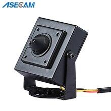 Super HD AHD 3MP Starlight Mini CCTV Video Surveillance Small Vandal-proof Black Metal Square Security Camera 3.7mm lens