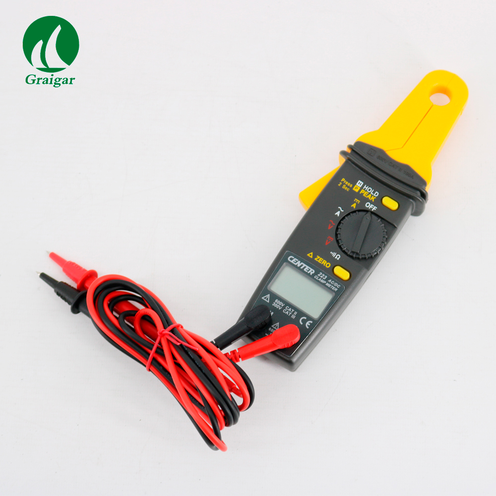 CENTRO 223 Mini Clamp Meter Clamp Meter Tester AC Clamp Meter 3 1/2 4 digital liquidi del display - 3