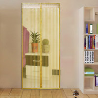 Hot New Sale Summer Mosquito Net Curtain Magnets Door Mesh Insect Sandfly Netting With Magnets On