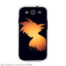 Dragon Ball Z Goku White Case Cover for Samsung Galaxy