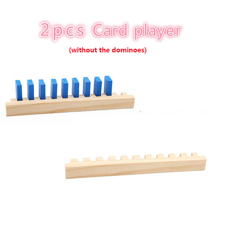Детские деревянные игрушки домино, 120 шт., аксессуары, блоки для домино, игры Монтессори, развивающие игрушки для детей, подарок