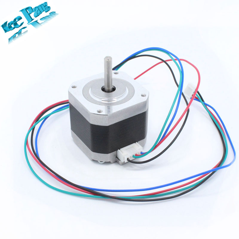 Impresoras 3D Reprap 4-lead Nema17 Stepper Motor 42 Motor NEMA 17 del Motor 42BY