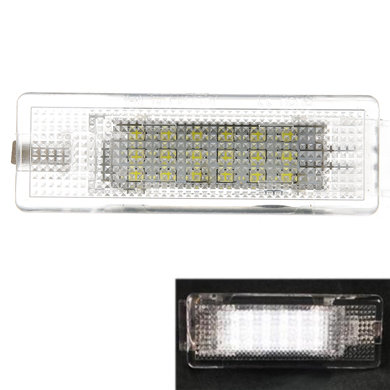 1pc DC 12V LED Car Trunk Luggage Light Error Free White Lamp For Volkswagen VW Golf MK5 Passat Jetta 2x error free led license plate light for volkswagen vw passat 5d passat r36 08