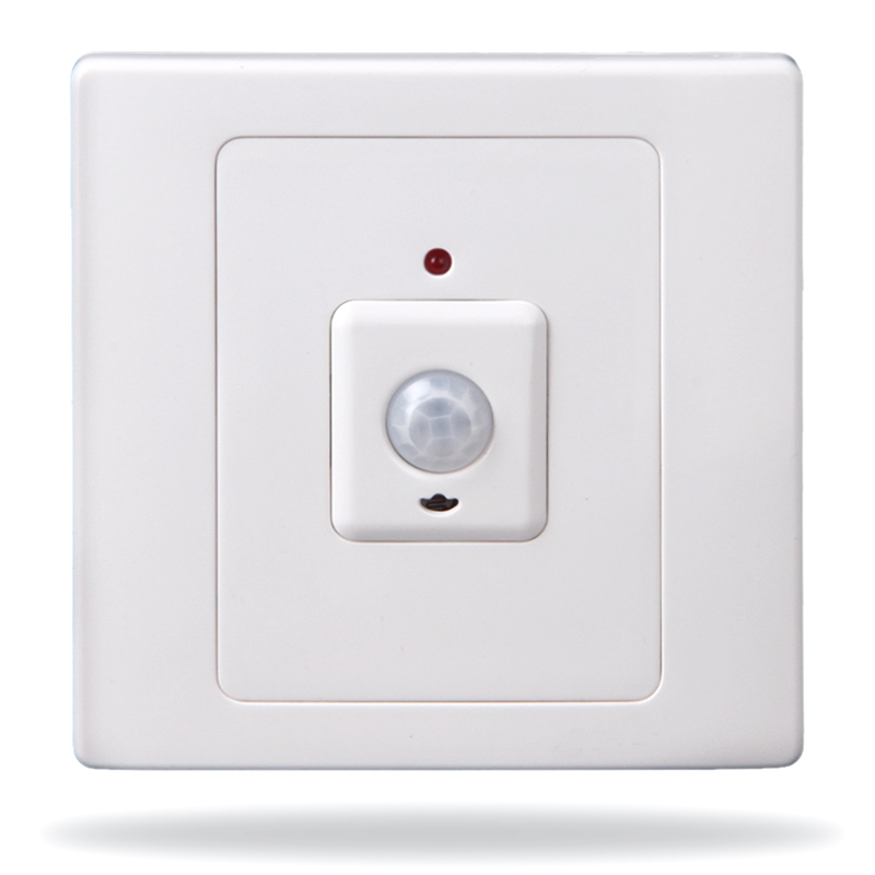 цены Human body infrared sensor switch light delay time adjustable led lighting energy saving lamp switch brt-315