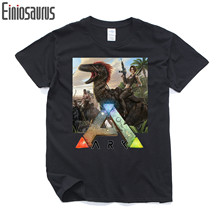 Ano survival evolved The ark survival evolution Pure cotton T shirt Round collar Men's short sleeve T-shirt  006 Video games
