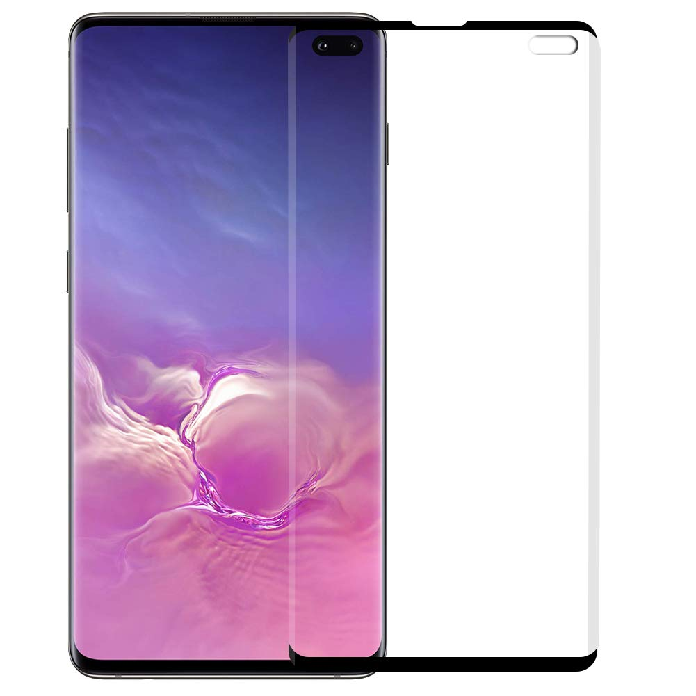 Not Full Cover Tempered Glass 3D Case Friendly Curved For Samsung Galaxy S10 Plus S10 S10e Note 9 8 S9 S8 Plus Screen Protector in Phone Screen Protectors from Cellphones Telecommunications