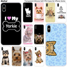 Fashion-Case Apple iPhone Yorkshire Terrier Soft-Silicone for 11 Pro XS MAX Xr-x-7/8-plus/6/..