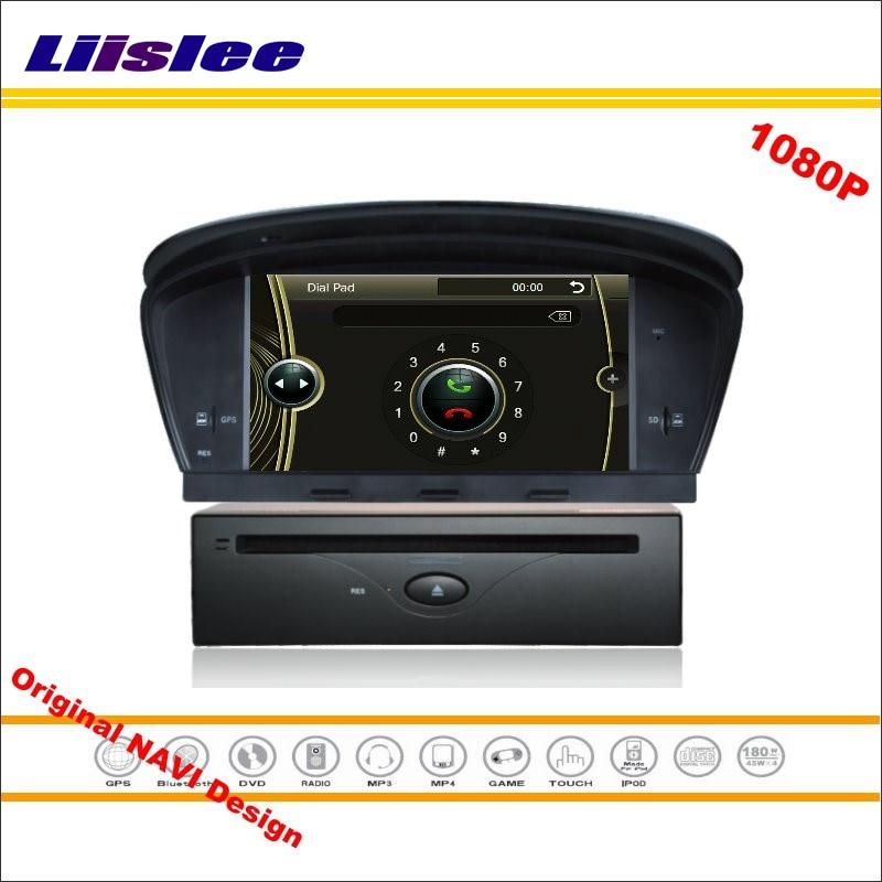 Liislee For BMW 5 E60 E61 E63 E64 2003~2010 Without AUX Car Stereo Radio CD DVD GPS Navigation HD Screen System Original Design
