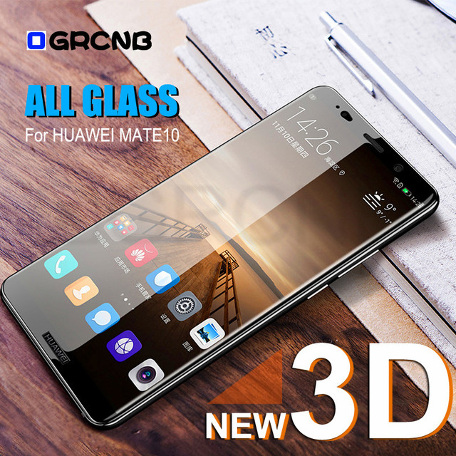 9H 3D Tempered Glass For Huawei Mate 10 9 Pro Lite Honor...