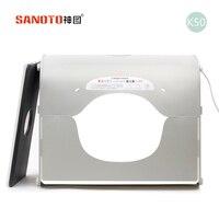 5pcs Lot LED Photo Studio Professional Portable Mini Kit Photo Photography Studio Light Box SANOTO Softbox
