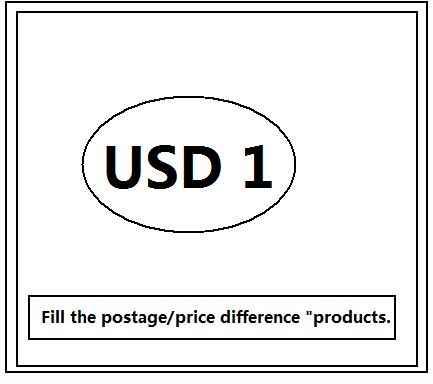"""Wypełnić opłata pocztowa/różnica cen """"produktów."""