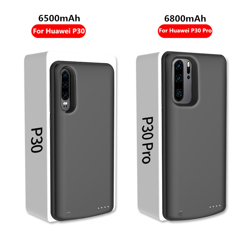 NTSPACE Fashion External Portable Extend Power Bank Battery Charger Case For Huawei P30 P30 Pro Power