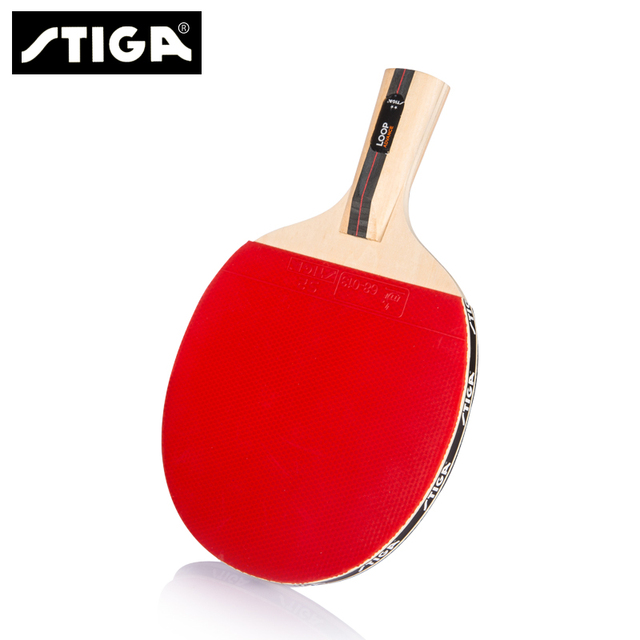 Stiga table tennis ball 2 professional Table Tennis Rackets Ping Pong Paddle  Long Short Handle 306ead454