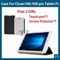 "For Chuwi hi8 hi8 pro vi8 plus case Ultra-thin PU Leather Case for chuwi hi8 hi8 pro vi8 plus 8""tablet PC + Free 2 gifts"