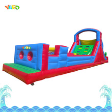 Inflatable Obstacle Course Bouncy Castle Combo Slide PVC Tarpaulin Bounce House for Kids