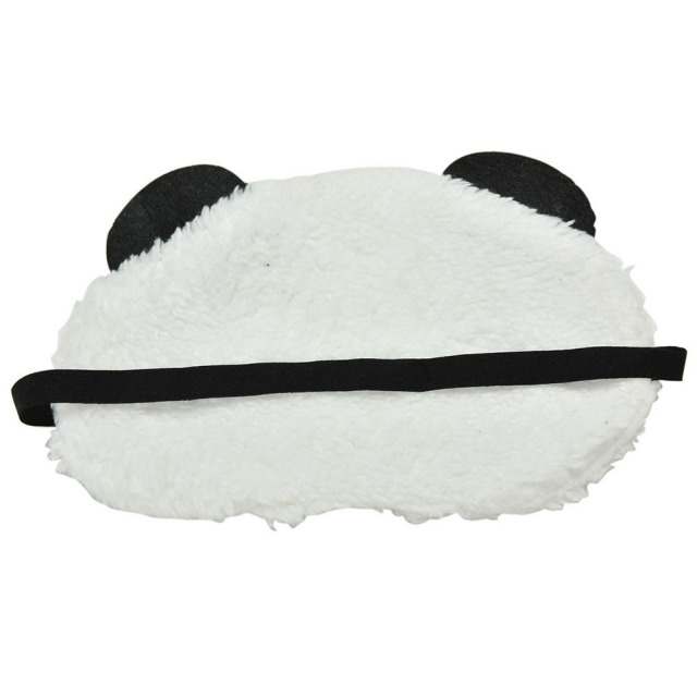 Mask For Sleep Cute Panda Sleeping Face Eye Blindfold Eyeshade Breathable Kids Women Travel Cover Health Care Aid Eyepatch Tool 4