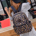 2017 Fashion Vintage Printing Backpack School Bag For Boy Girl Teenagers Travel Rucksack Women's Canvas Backpacks Drop Shipping