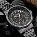 MEGIR new fashion quartz watch man business wristwatch for male luminous analog watches men chronograph calendar hour clock hot