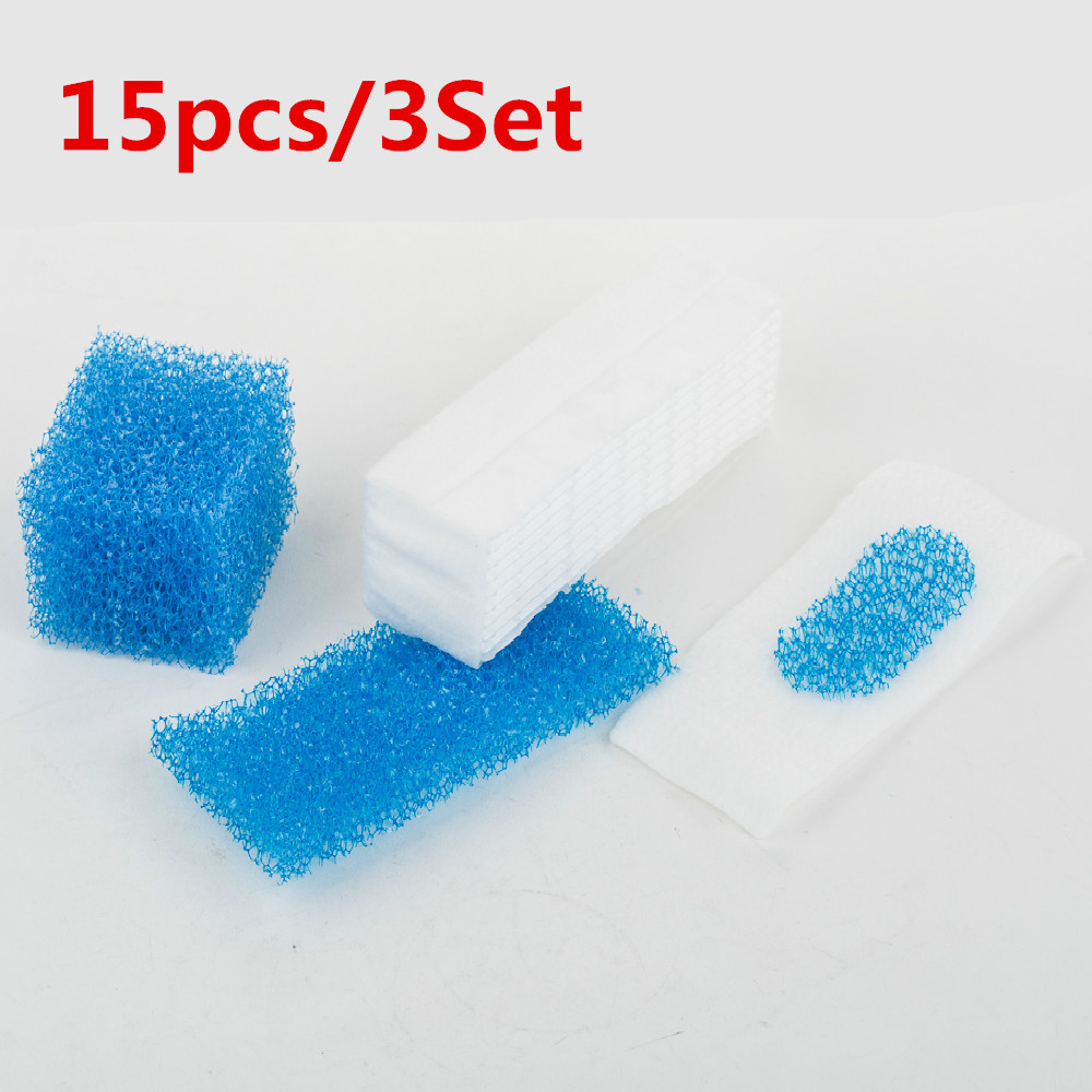 15pcs/3 Set Thomas Twin / Genius Filter for Thomas 787203 Vacuum Cleaner Parts Twin Aquafilter Genius Aquafilter Filters