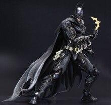 AUCUN 1 Bat-man Figure Noir Bleu Édition Play Arts Kai Variant Play Art KAI PVC Action Figure Homme Chauve-Souris Bruce Wayne 25 cm Poupée Jouets